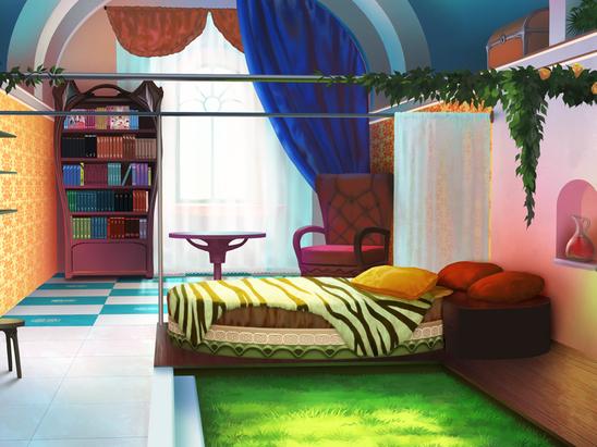Chambre par Valkyon