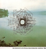 Andy Goldsworthy-Lake disctrict-screens-1988