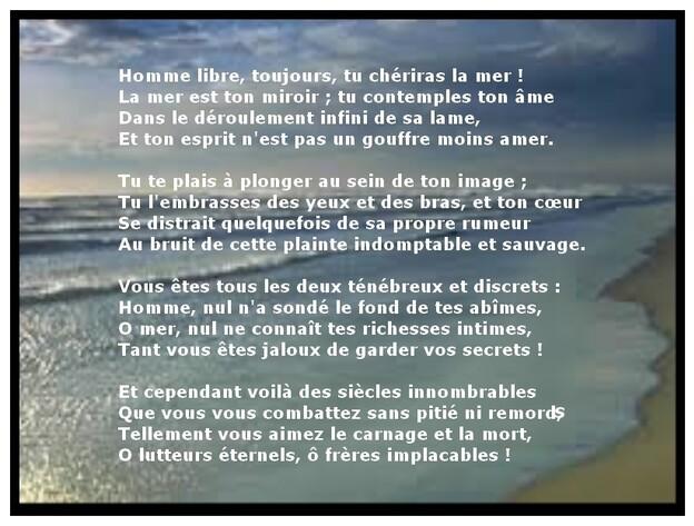 Auteur : Charles Baudelaire.