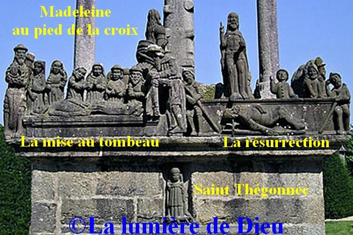 Le calvaire de Saint Thégonnec