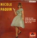 Nicole Paquin - Anna Karina - Une femme est une femme - 1961