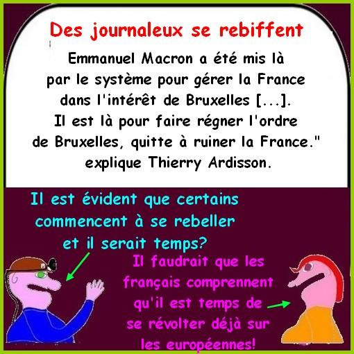 Macron, syndicats, Renault, etc ce sont les infos du lundi.