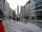 Straße in Augsburg
