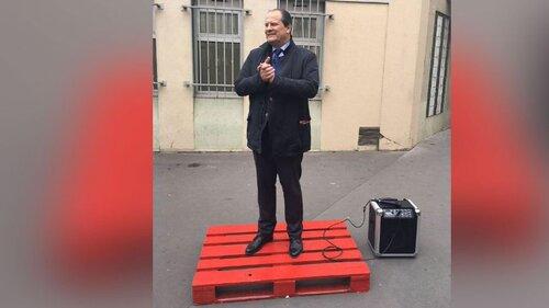 Macron parle aux médias étrangers car en France on ne le comprend pas!