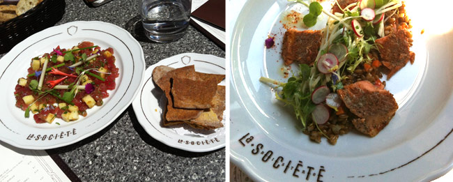 Restaurant:  restos 2013, #5: La Société