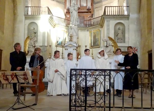 """""""De Bernard à saint Bernard"""" à l'église Saint-Pierre (ex Notre-Dame) de Châtillon sur seine..."""