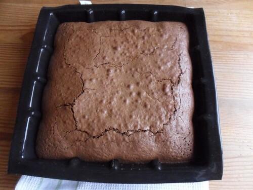 *** Brownie aux pralines roses ***