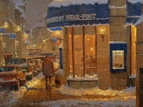 RICHARD SAVOIE, Peintre canadien né à Moncton. ARTS