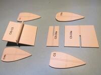 1/  éléments tronçons fuselage