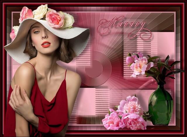 FAC0088 - Tube femme chapeaux