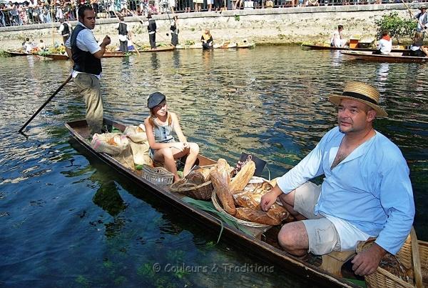 Isle sur Sorgue, le marché flottant