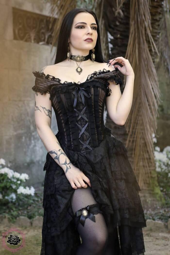 Silky, modèle goth