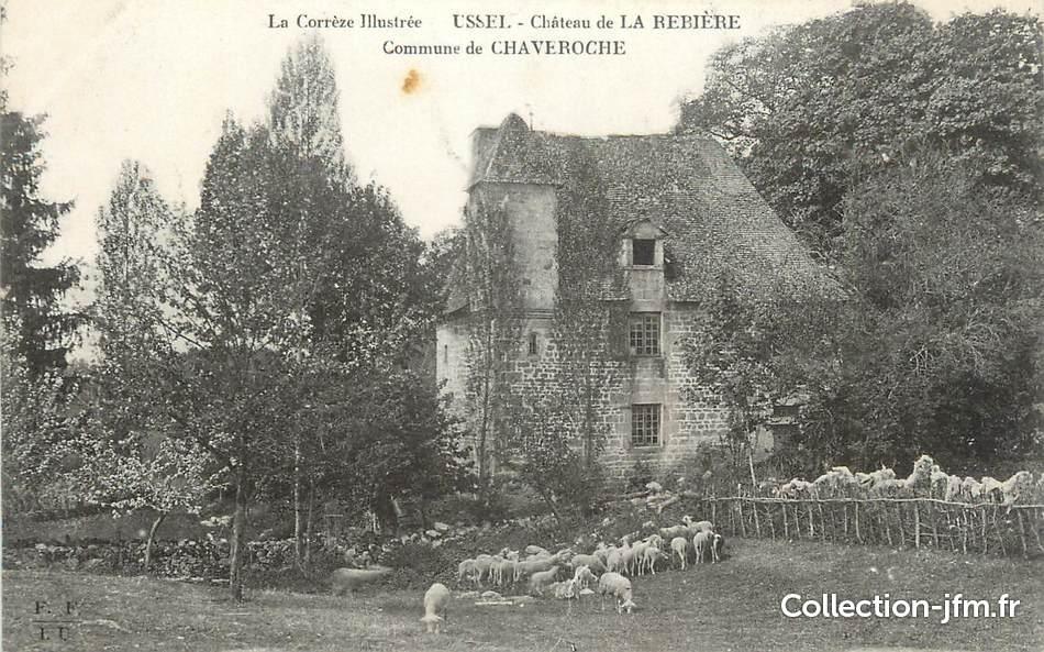 """Résultat de recherche d'images pour """"chateau de la rebiere  de Chaveroche"""""""