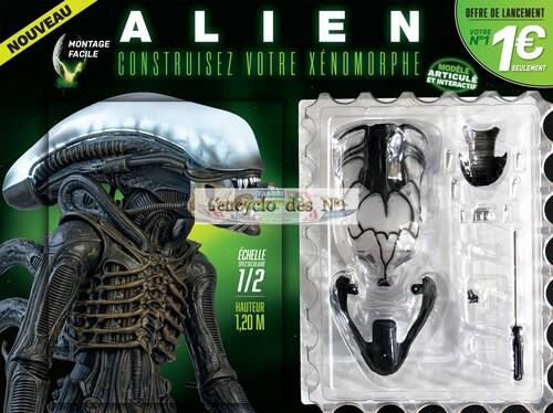 N° 1 Construisez votre xénomorphe Alien - Test