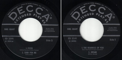 EARL GRANT - EP THE VERSATILE