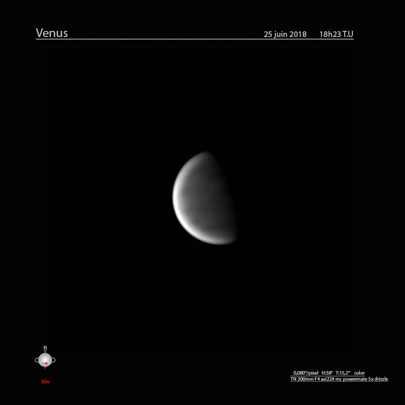 Venus du 25 juin