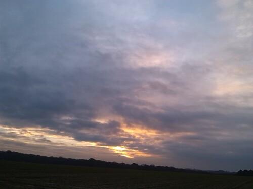 ciel moutonneux