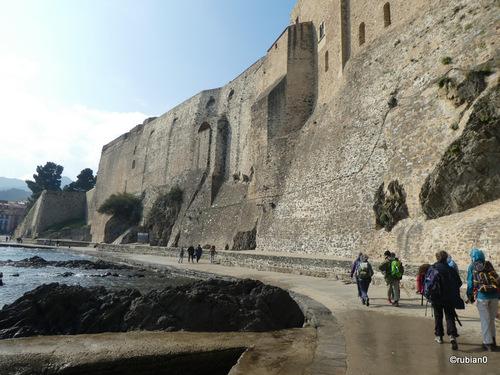 Les fortifications du château