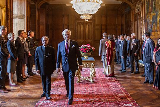 La visite du président