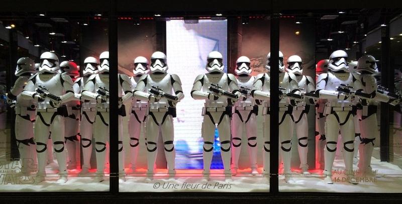 Les Galeries Lafayette fêtent Noël avec Star Wars