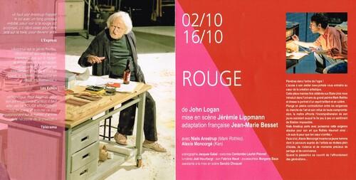 """Rouge"" de John Logan"