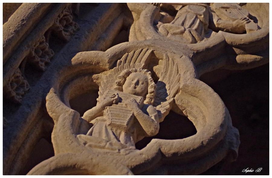 L'abbatiale de la Chaise - Dieu .