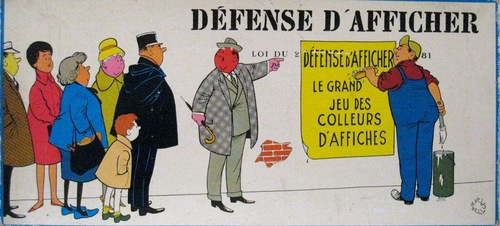 Defense d'afficher