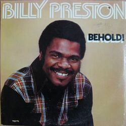 Billy Preston - Behold - Complete LP