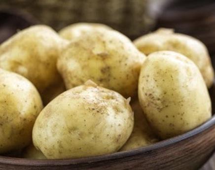 Pommes de terre neige