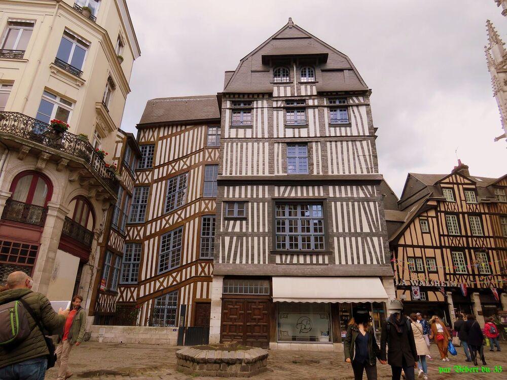 Rouen dans le 76