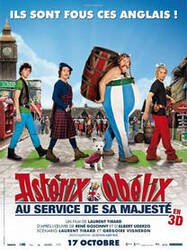 Affiche Astérix et Obélix: Au Service de sa Majesté