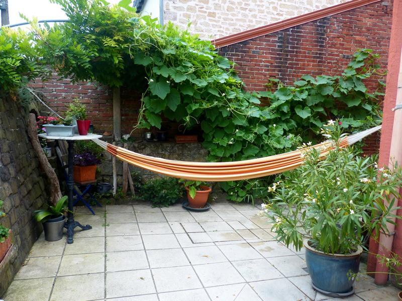 le jardin de Minouche et Choumi