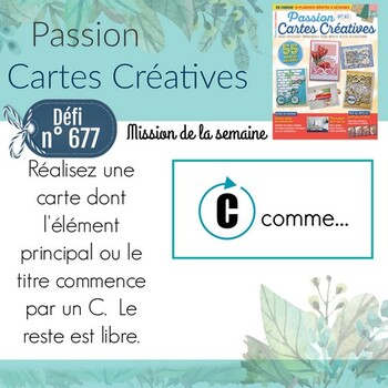 Passion Cartes Créatives#677 !