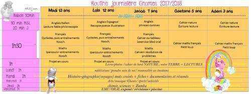 Organisation 2017 Smala