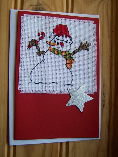 Une série de cartes de Noël