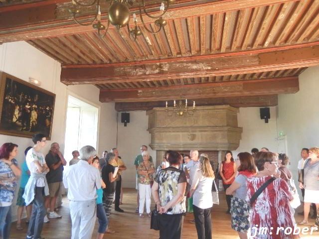 Journées du patrimoine, Le château de Nieul de période du XIe siècle