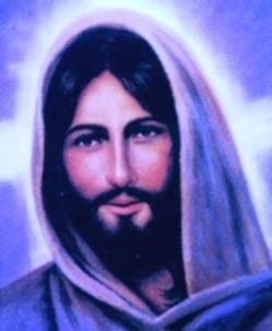 Christ bleu