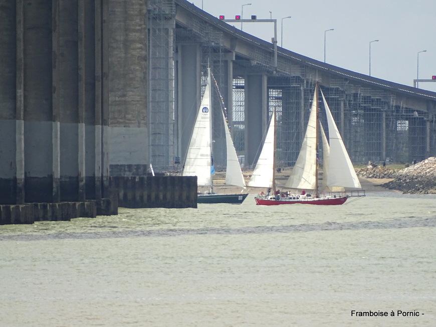 Débord de Loire 2019 - Départ vers Nantes