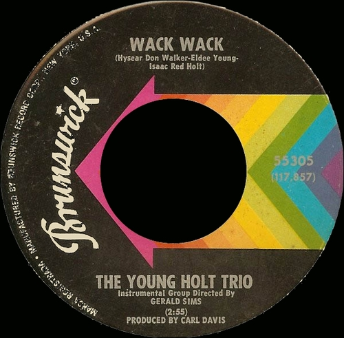 The Young-Holt Trio : Single SP Brunswick 55305 [ US ]