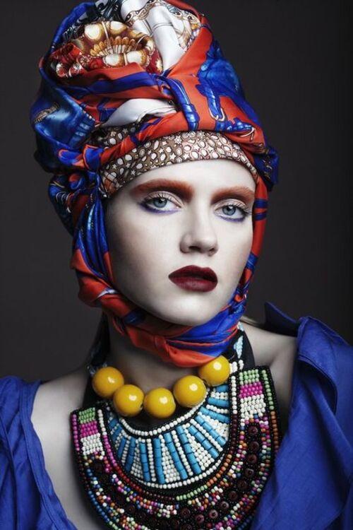 Coiffures foulards (suite)