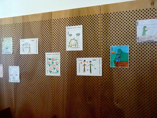Le palmarès du concours d'art postal organisé par la bibliothèque municipale
