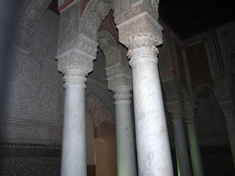 Marrakech - tombeaux saadiens