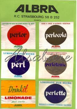 Brasserie C.K. PERLE, Ch. KLEINKNECHT.Schiltigheim