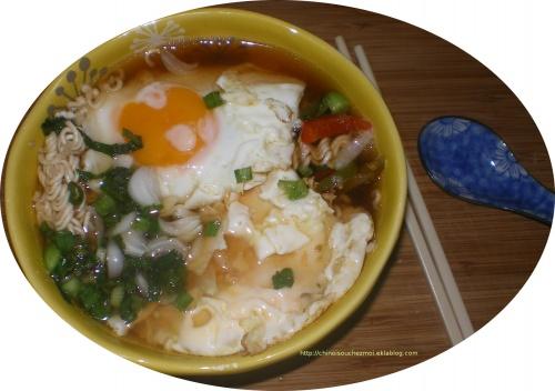 la soupe de la sage-femme : bol terminé
