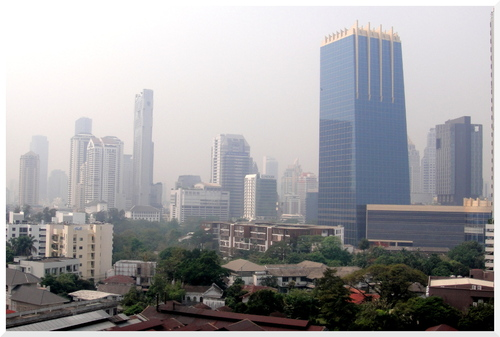 Derniers regards à Bangkok.