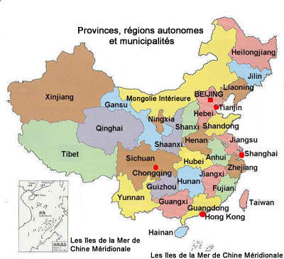 La Chine : un soupçon de géographie