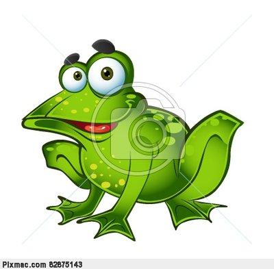 Une histoire de grenouilles.