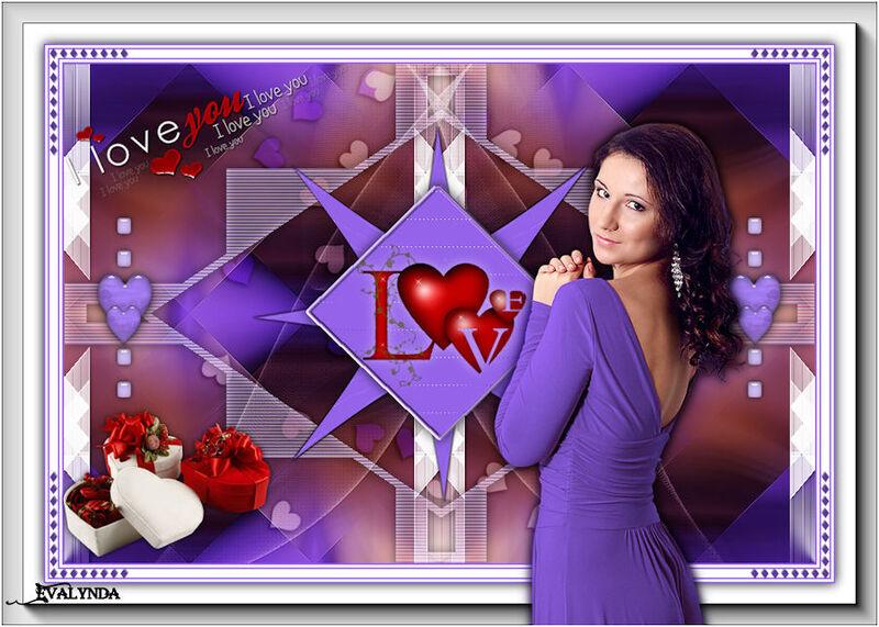 St Valentin I love you