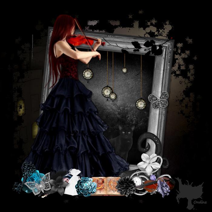 Création Darkest violin