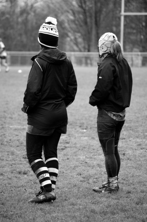Rugby féminin, stade Malleval, décembre 2012 #7